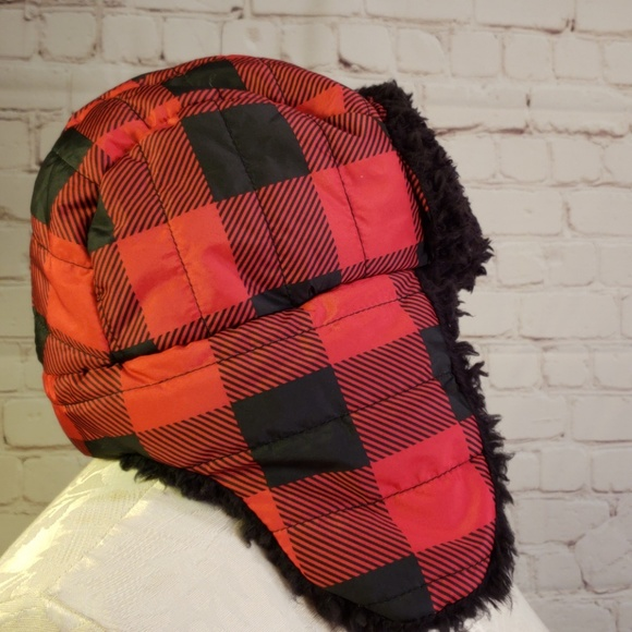 a661214a3dda1e Old Navy Accessories | Just In Plaid Trapper Flap Hat | Poshmark